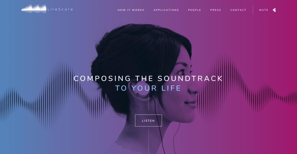LifeScore Website