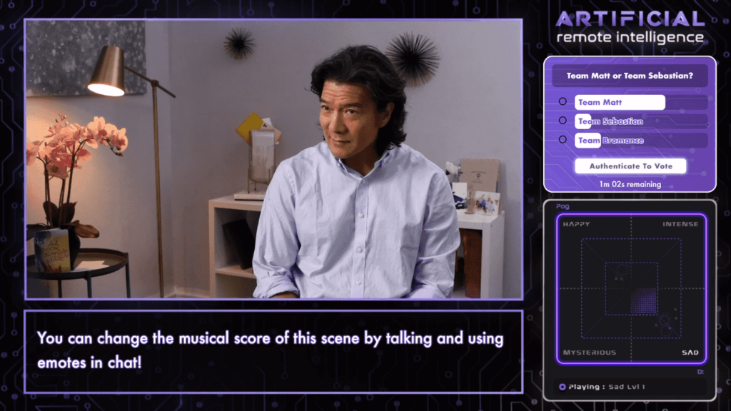LifeScore in action, Screenshot from Twitch