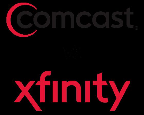 Comcast & Xfinity logos