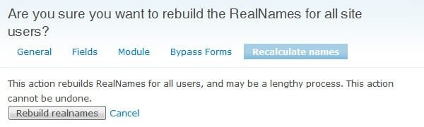 Configuring the RealName module in Drupal - Part 4