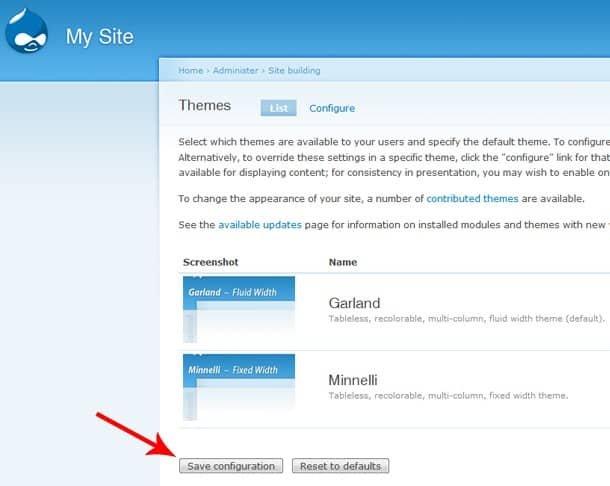 Rebuild the theme registry in Drupal