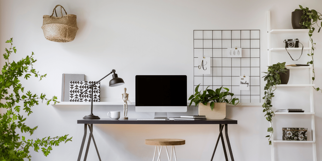 Home office, stock photo