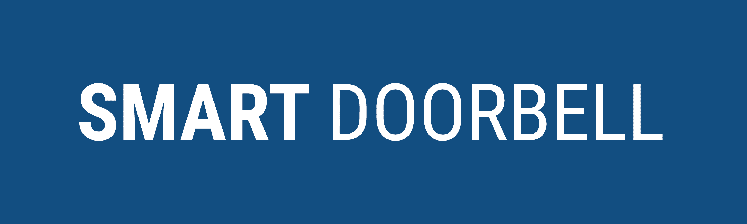 Smart Doorbell brand logo. Mobile application development and IoT development by SingleMind.